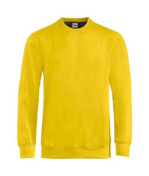 Unisex Sweater Canton zitronengelb