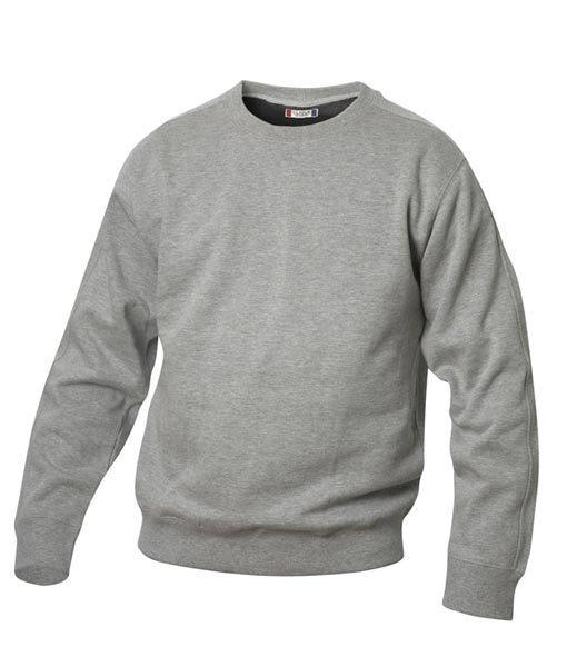 Unisex Sweater Canton graumeliert