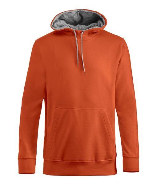 Unisex Kapuzen-Sweater Carmel orange