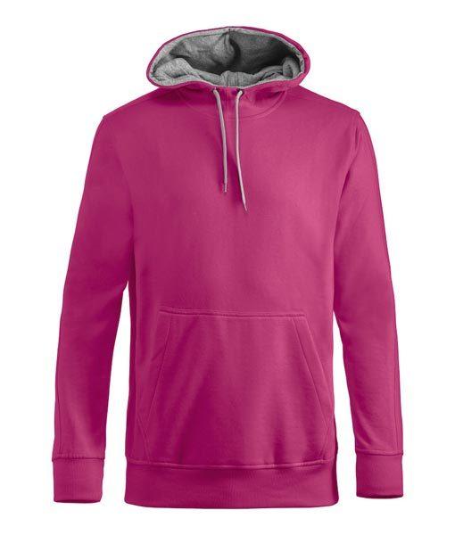 Unisex Kapuzen-Sweater Carmel Kirsche
