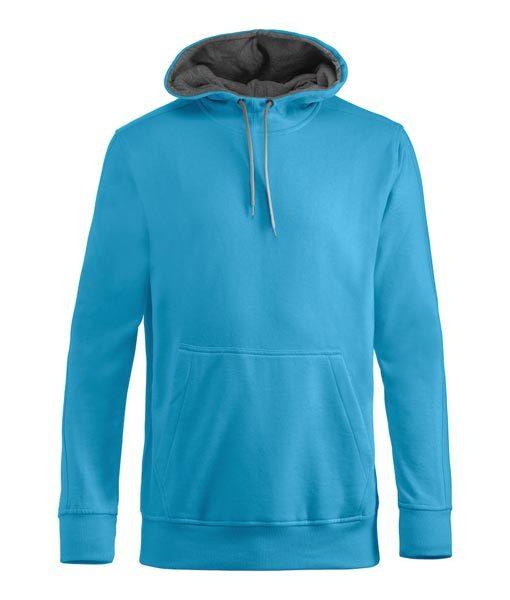 Unisex Kapuzen-Sweater Carmel hellblau