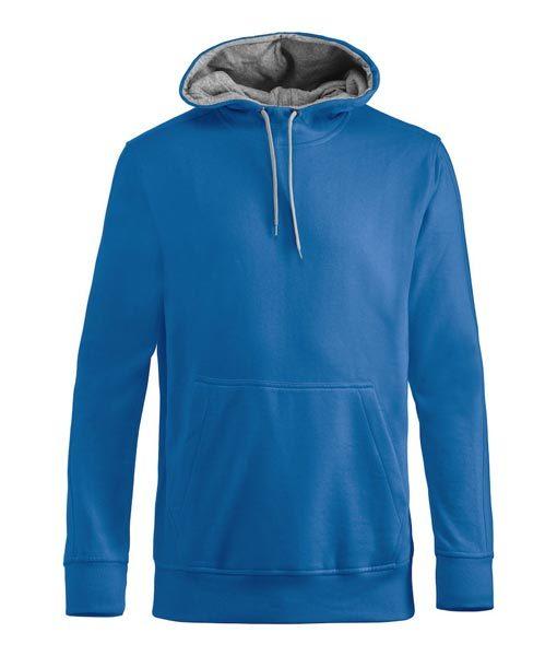 Unisex Kapuzen-Sweater Carmel royalblau
