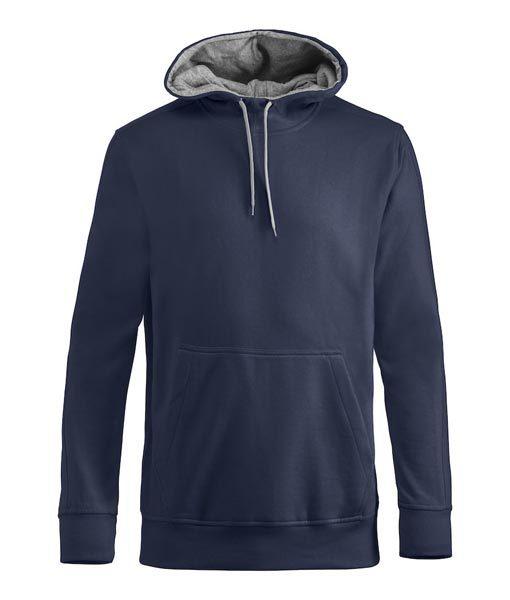 Unisex Kapuzen-Sweater Carmel navyblau