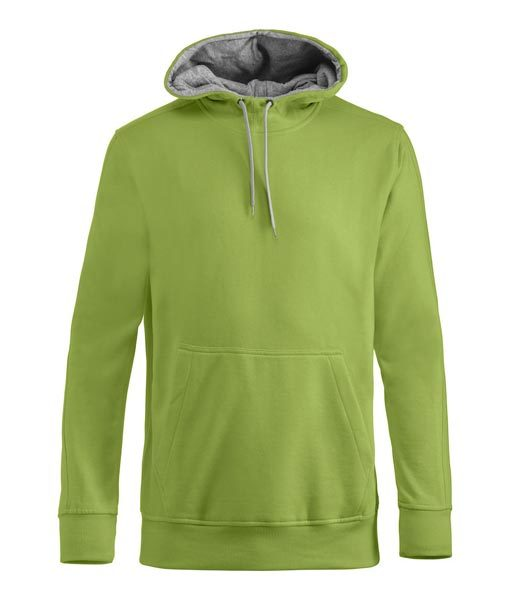 Unisex Kapuzen-Sweater Carmel hellgrün