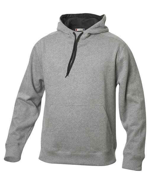 Unisex Kapuzen-Sweater Carmel graumeliert