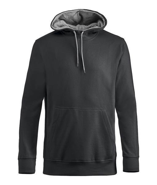 Unisex Kapuzen-Sweater Carmel black