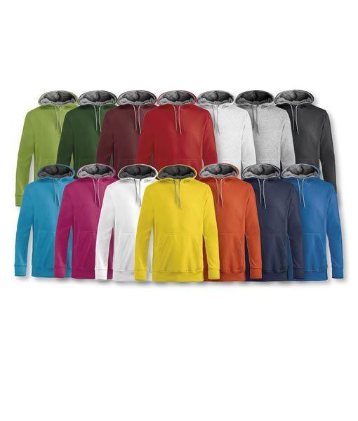 Unisex Kapuzen-Sweater Carmel Gruppe
