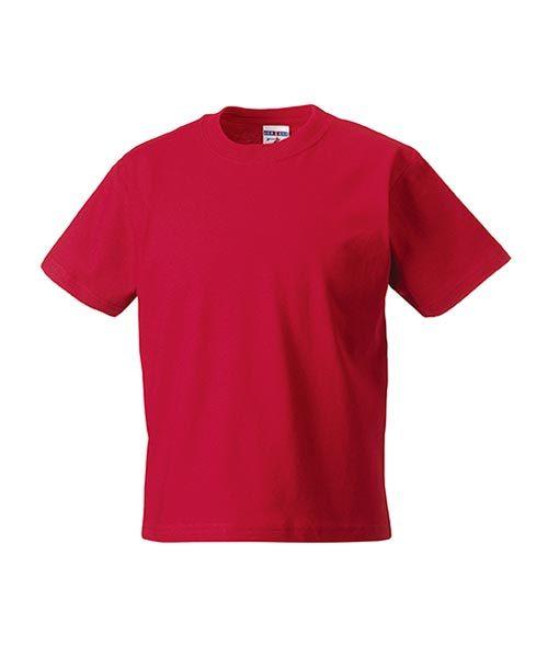 Kinder T-Shirt Russel rot