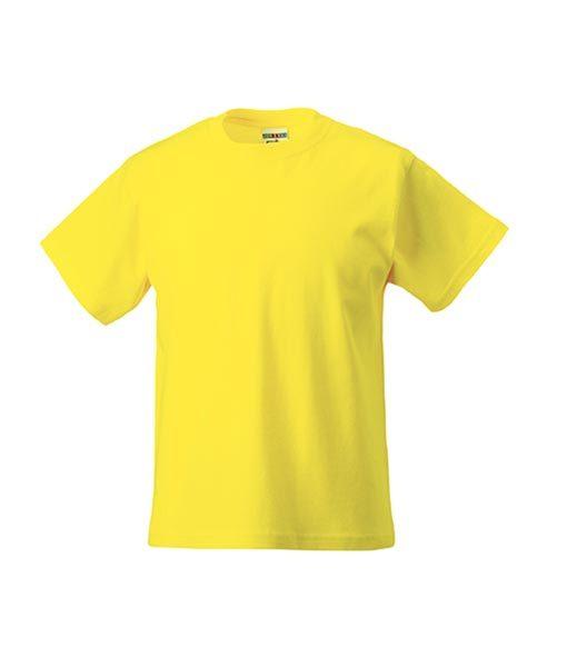 Kinder T-Shirt Russel yellow