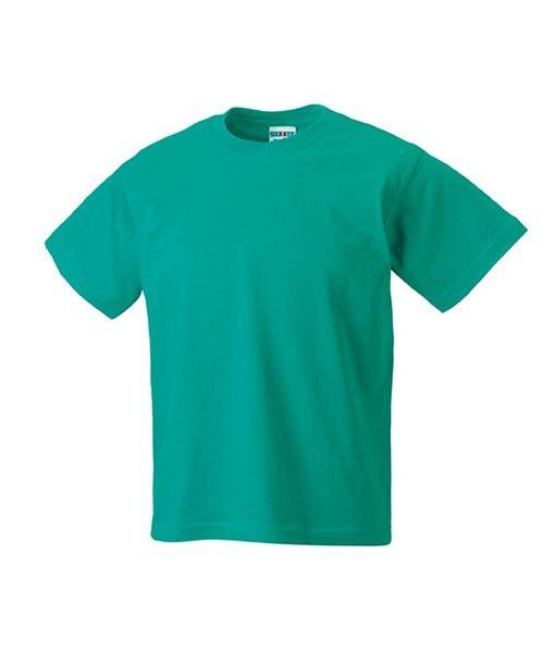 Kinder T-Shirt Russel winter-emerald