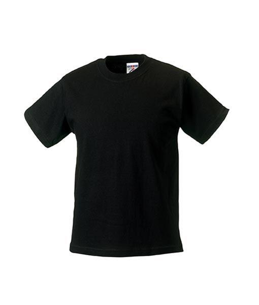 Kinder T-Shirt Russel black