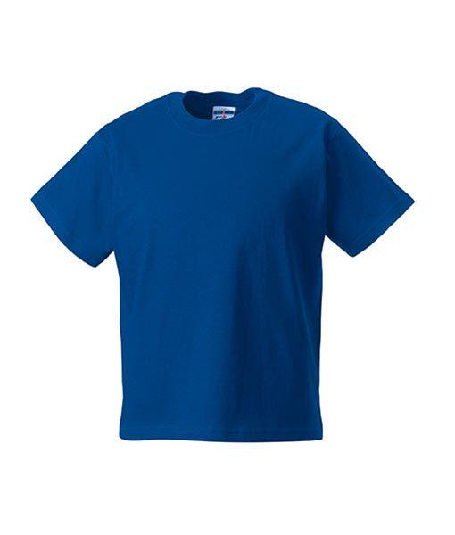Kinder T-Shirt Russel royalblau