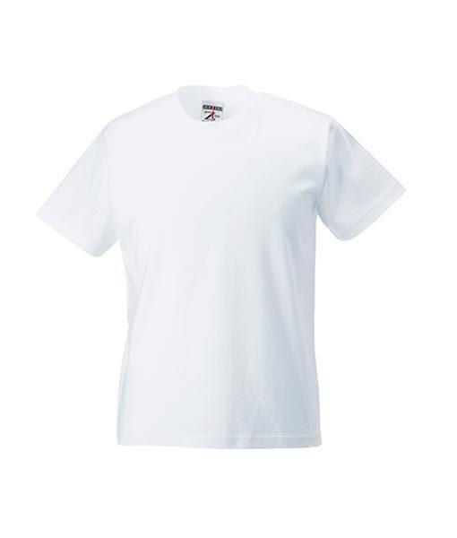 Kinder T-Shirt Russel weiss
