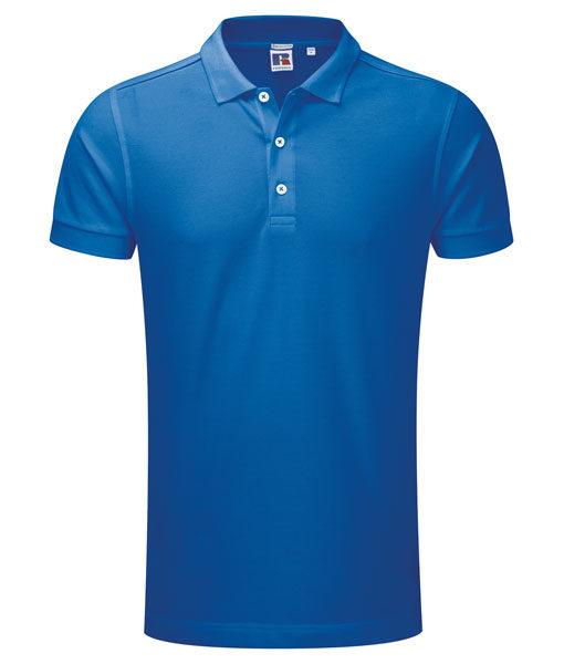 Russel 566M Herren-Poloshirt azureblau