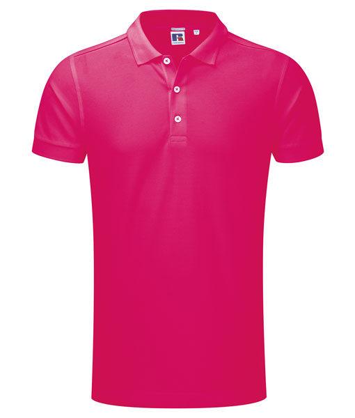 Russel 566M Herren-Poloshirt fuchsia