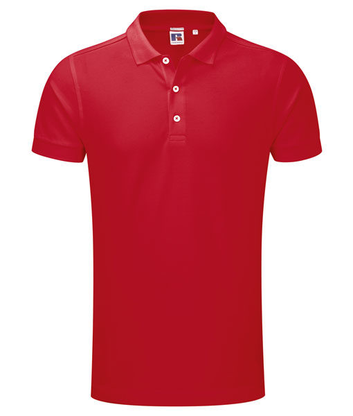 Russel 566M Herren-Poloshirt rot