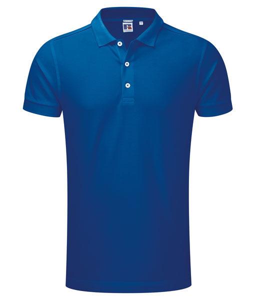 Russel 566M Herren-Poloshirt royalblau