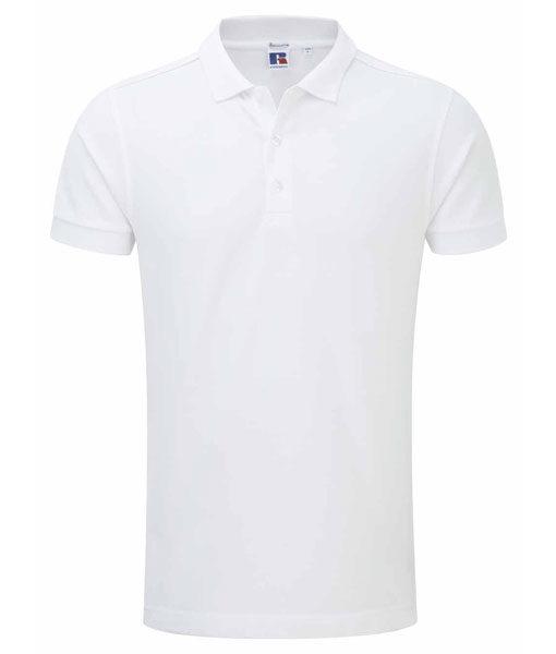 Russel 566M Herren-Poloshirt white