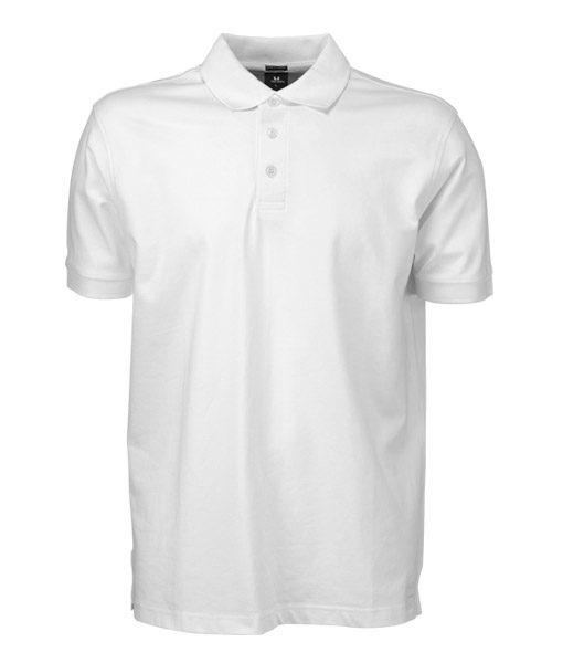 Herren Poloshirt TJ 1405 weiss
