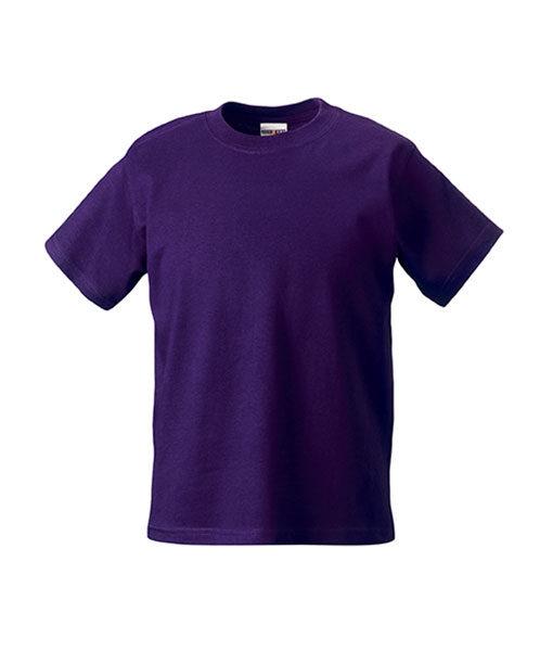 Kinder Tshirt R-180B-purple